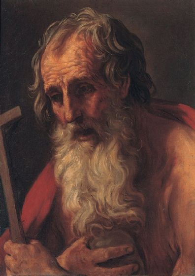 Reni, Guido: Saint Jerome. Fine Art Print/Poster. Sizes: A4/A3/A2/A1 (002104)